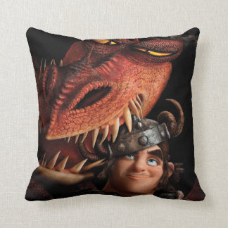 Snotlout & Hookfang Throw Pillow