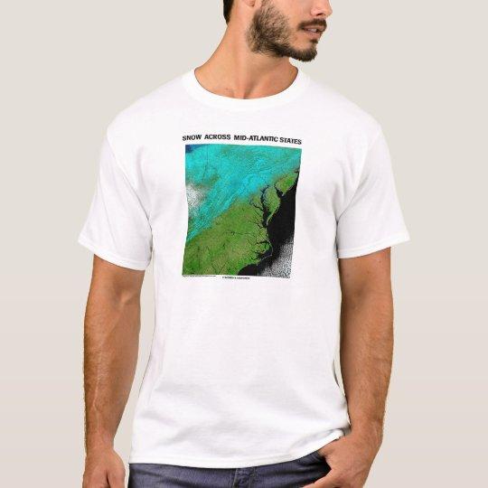 Snow Across Mid-Atlantic States T-Shirt
