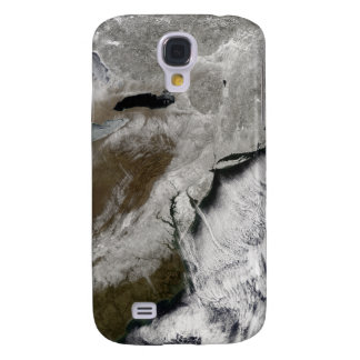 Snow across the northeastern United States Galaxy S4 Case