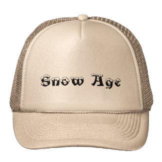Snow age cap