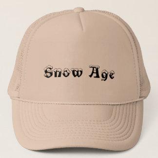 Snow age trucker hat