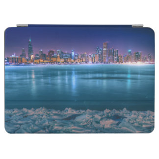 Snow and ice abound on Lake Michiga at Arctic iPad Air Cover