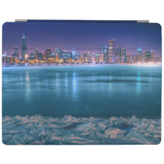 Snow and ice abound on Lake Michiga at Arctic iPad Cover