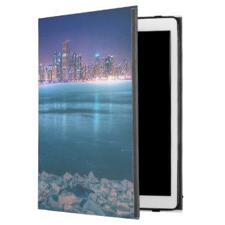 "Snow and ice abound on Lake Michiga at Arctic iPad Pro 12.9"" Case"