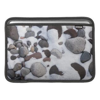 Snow And Rocks, Mt. Rainier National Park 2 Sleeve For MacBook Air