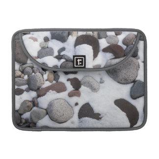 Snow And Rocks, Mt. Rainier National Park 2 Sleeve For MacBooks