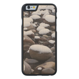 Snow And Rocks, Mt. Rainier National Park Carved® Maple iPhone 6 Case