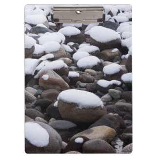 Snow And Rocks, Mt. Rainier National Park Clipboards