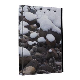 Snow And Rocks, Mt. Rainier National Park iPad Folio Cases