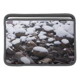 Snow And Rocks, Mt. Rainier National Park MacBook Air Sleeve