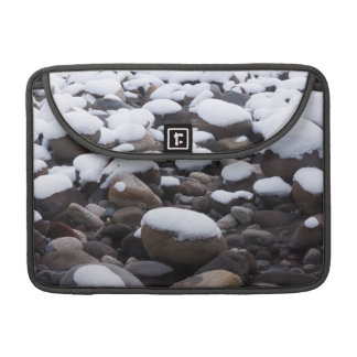 Snow And Rocks, Mt. Rainier National Park MacBook Pro Sleeves