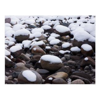 Snow And Rocks, Mt. Rainier National Park Postcard