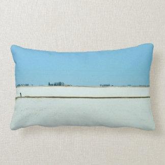 Snow and Sky Lumbar Cushion