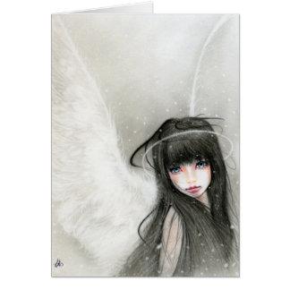 Snow Angel Greeting Card