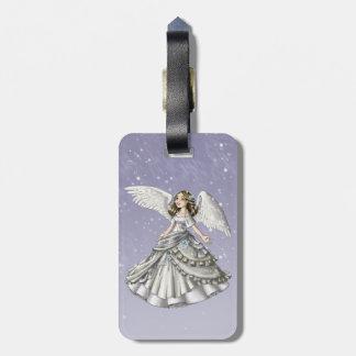 Snow Angel Luggage Tag