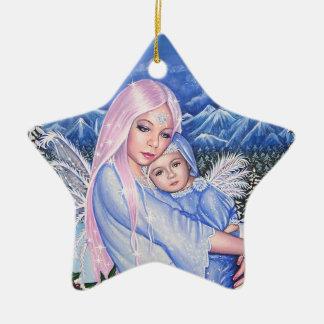 Snow Angels Christmas Ornament