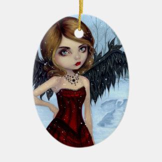 """Snow Angels"" Ornament"