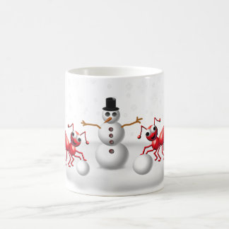 snow ants coffee mug