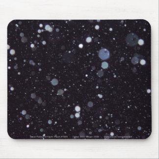 Snow at Night Mousepad