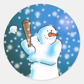 Snow Ball Sticker