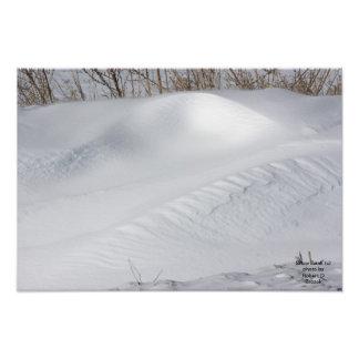 Snow Bank Photo