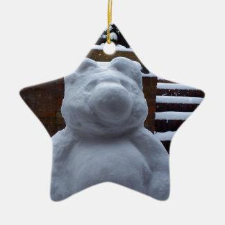 Snow Bear Christmas Ornament