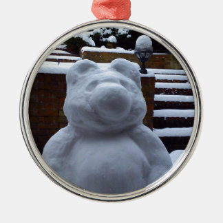Snow Bear Christmas Ornament