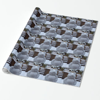 Snow Bear Wrapping Paper