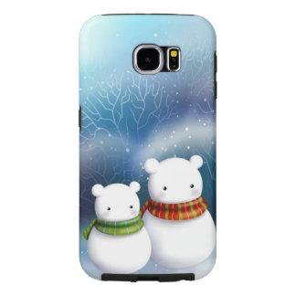 Snow Bears Winter Cell Case