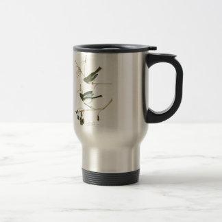 Snow Bird John James Audubon Birds of America Stainless Steel Travel Mug