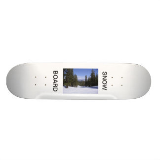 SNOW BOARD SKATE DECK