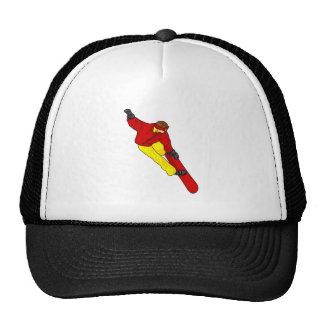 Snow Boarder Catch Air Trucker Hats