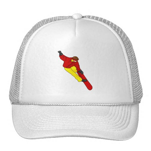Snow Boarder Catch Air Hat