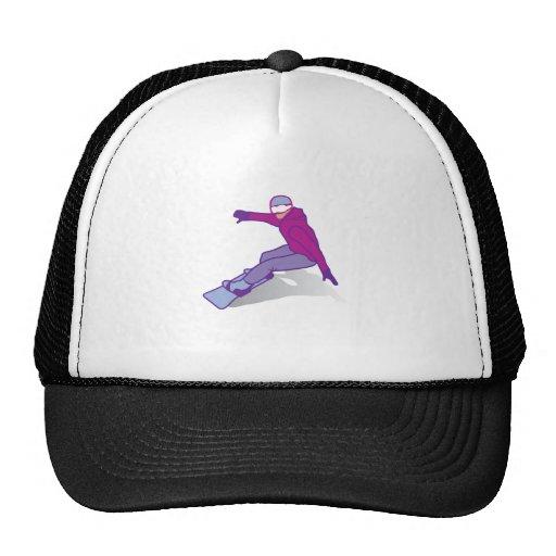 Snow boarder mesh hat