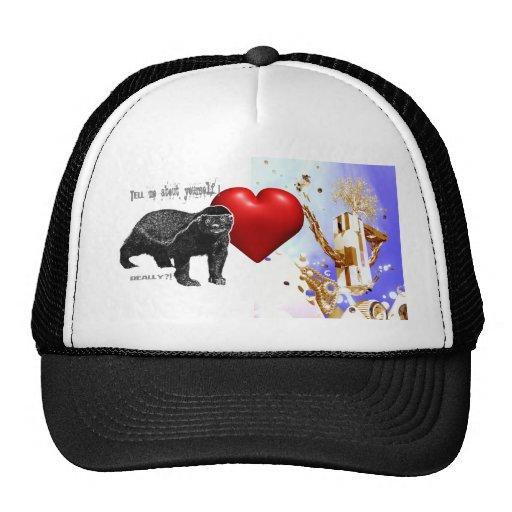 Snow Boarder - I Love Snowboarding! Hat