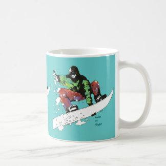 Snow Boarding Coffee Mug