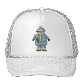 Snow Boy in Blue Cap