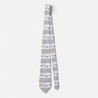 """Snow Came To Our House Today"" Men's Neck Tie"