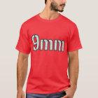 Snow Camo Ammo 9mm Tshirt Tee T Shirt