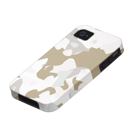 Snow Camouflage Case-Mate iPhone 4 Covers