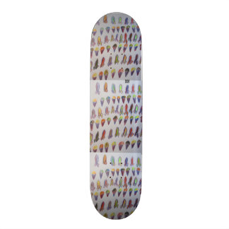 Snow cane and surf broad skateboards