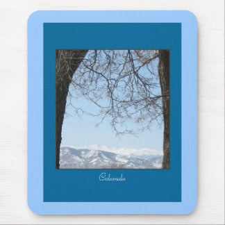 Snow Capped Back Range 2 Colorado Mountains Mousep Mouse Pad