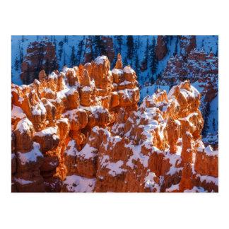 Snow Capped Hoodoos Postcard
