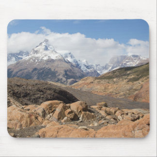 Snow-Capped Mountains Mouse Mat