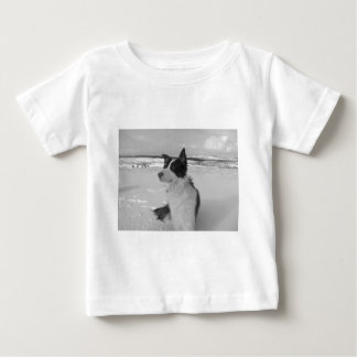Snow Collie Baby T-Shirt