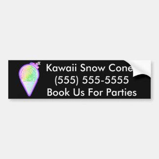 Snow Cone Lover - Bumper Sticker
