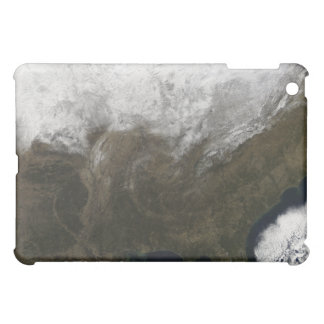 Snow cover over the United States iPad Mini Covers