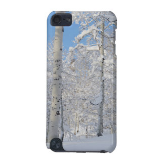 Snow-Covered Aspens, Beartrap-Desolation Ridge iPod Touch (5th Generation) Cover
