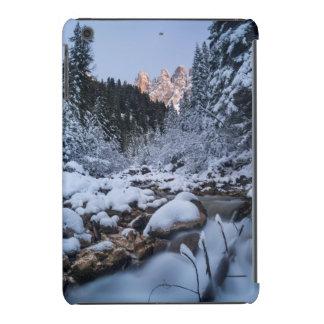 Snow-covered Geisler Mountain Range iPad Mini Retina Case