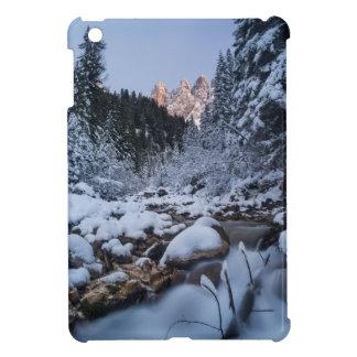Snow-covered Geisler Mountain Range Cover For The iPad Mini